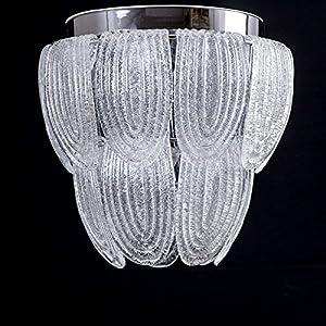 Agape - Plafón de cristal de Murano