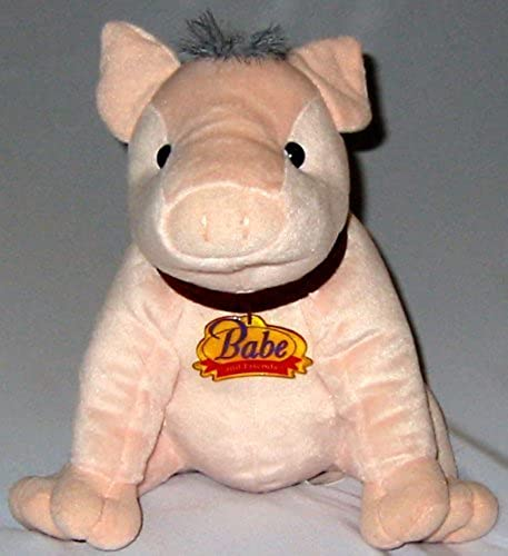 10  Plush Babe and Friends Pig Plush by Equity