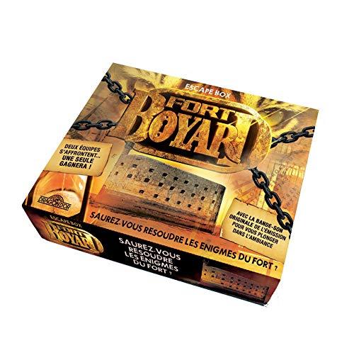 Fort Boyard - Escape box - Escape game enfant de 2 à 6 joueurs - Dès 8 ans (1)