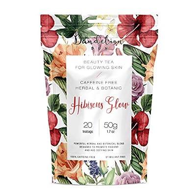 Dandelion Sun Organic Botanic Herbal Skinny Tea to Promote Healthy Skin, Body Detox Cleanse, Boost Metabolism and Energy from Dandelion Sun