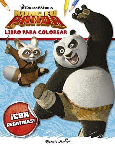 Kung Fu Panda. Libro para colorear (Dreamworks. Kung Fu Panda)