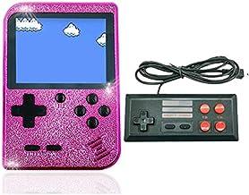 Jhana Console de jeu portable Console de jeu portable 8 bits intégrée 129 jeux Mini Console rétro jeu Retromax Electroplat...