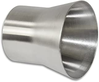 "Stainless Headers Mfg.  2.25"" to 3"" Stainless Exhaust Header Transition Muffler Adaptor - American Made"