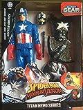 Marvel Spiderman Maximum Venom Captain America