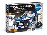 Clementoni 59144 Galileo Science – Construction Challenge Polizeifahrzeuge, Bausatz für ein ferngesteuertes Auto & Technik, Spielzeug für Kinder ab 8 Jahren als Weihnachtsgeschenk
