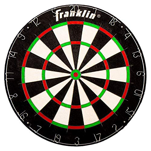 Franklin Sports Professional Dartboard - Regulation Size Dartboard - 18' Inch Dartboard