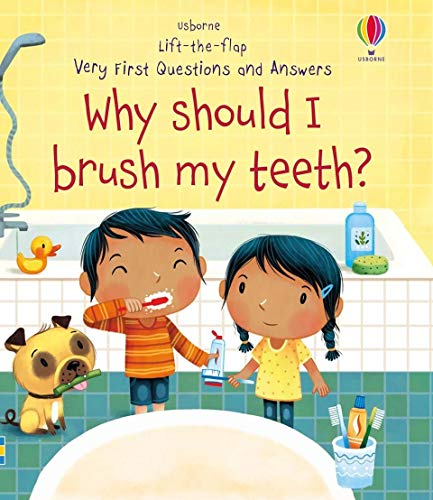Why Should I Brush My Teeth? (Very First Lift-the-Flap Questions and Answers)
