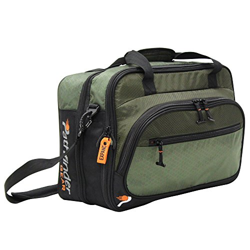 Pathfinder Luggage Gear Gear Convertible 19' Suitcase Carry-On Bag (19in, Olive)