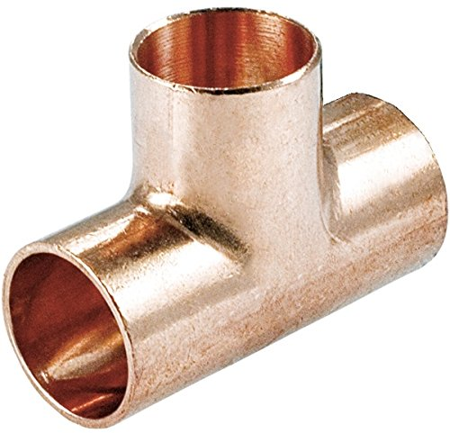 Kupfer Fitting Löt T-Stück reduziert (28x15x28)