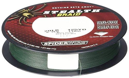 Spiderwire Stealth Braid 300-Yard Spool (Moss Green, Pound/Diameter 8/1.5)