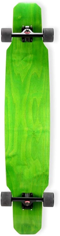 HBJB Complete Board Drop-Through Freeride Skating Cruiser Boards 118  24cm Maple Deck