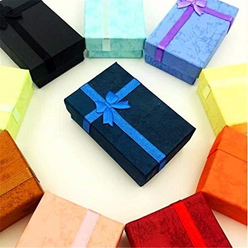 Xinger Mode RomantischeSchoonheid Sieraden Geschenkdoos Hanger Case Ring Oorbel Ketting Horloge Verpakkingsdoos, Blauw