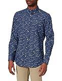 GANT D1.REG Freedom Leaf BD Camisa, Azul clásico, M para Hombre