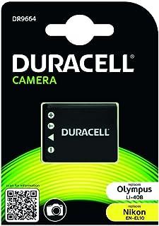 Duracell DR9664 - Batería para cámara Digital 3.7 V 630 mAh (reemplaza batería Original de Nikon EN-EL10)