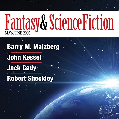 The Best of Fantasy and Science Fiction Magazine, May-June 2003  audiobook cover art