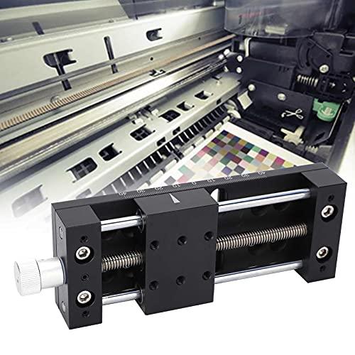 Etapa lineal, eje X Estructura estable de etapa lineal para equipos ópticos para máquinas de prueba para dispositivos de medición para equipos de fabricación de semiconductores