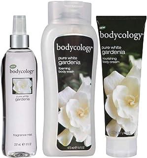 Bodycology Body 3 Piece Set (Fragrance Mist Spray, Body Cream, Body Wash) (Pure White Gardenia)