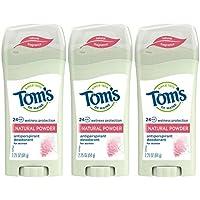 3-Pack Tom's of Maine Women's Antiperspirant Deodorant Stick