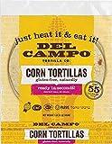 Del Campo Soft Corn Tortillas – 6 Inch Round 1 Lb. Bag. 100% Natural, Gluten Free and All-Corn...