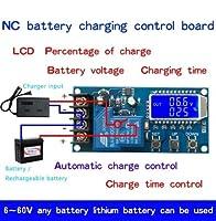 DC 6-60v30Aストレージ充電制御モジュール保護ボード充電器タイムスイッチLCDディスプレイXY-L30A