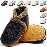 Lvptsh Zapatos de Bebé Zapatos Primeros Pasos de Cuero...