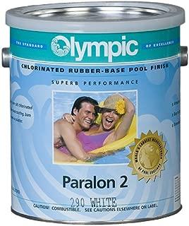 Kelley Technical Coating 290-GL Olympic Paralon 2 Chlorinated Rubber Base Enamel Gallon, White
