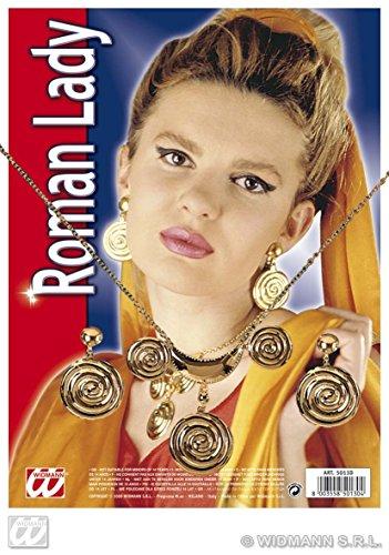 WIDMANN Roman Lady Jewellery Set Fancy Dress 5013D (accesorio de disfraz)