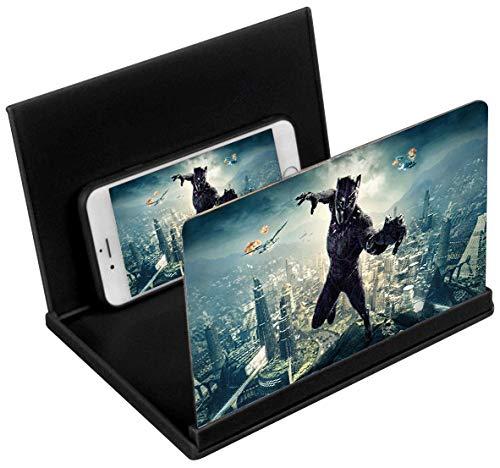 Kitchen-dream 8 Pollici Lente di ingrandimento Schermo Telefono 3D HD Schermo Amplificatore per Smartphone Pieghevole cinemaphone Supporto Amplificatore Cellulare per Tutti Phone