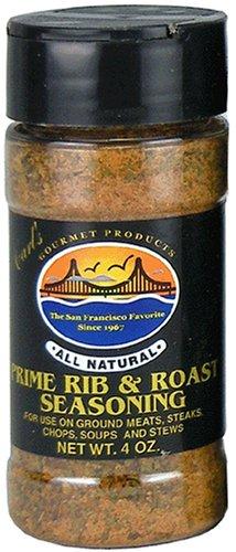 Carl's Gourmet All Natural Prime Rib and Roast Seasoning and Meat Rub - 4 oz