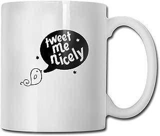 Custom Tweet Me Motivational Mug