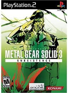 Best metal gear solid 2 subsistence Reviews