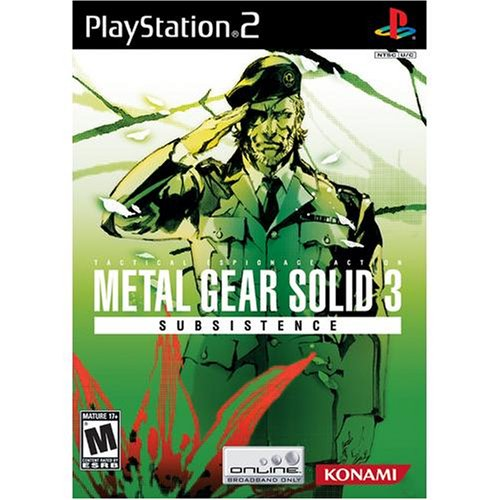 Metal Gear Solid 3: Subsistence / Game [Importación USA]