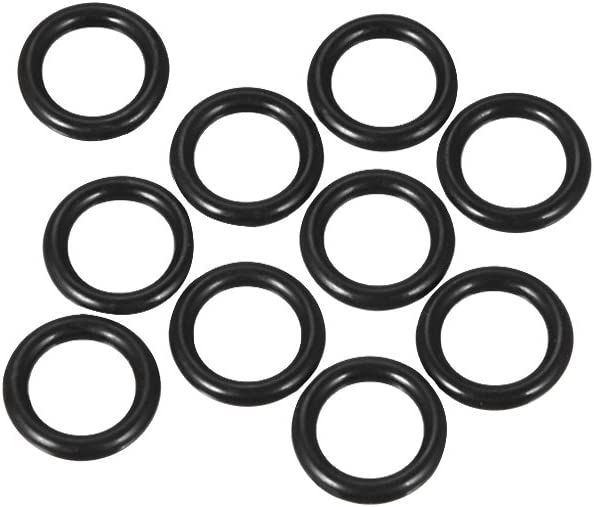 uxcell Nitrile Rubber O-Rings Excellent Limited time trial price 14mm OD ID Width Metric 2.5mm 9mm