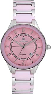Wrist Watch for Women by Olivera, Pink, OL1364