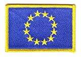 FahnenMax® Flaggen Aufnäher Patch Europa 12 Sterne Flagge