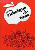 Rubrique-à-brac, tome 1 - Dargaud - 07/06/1996