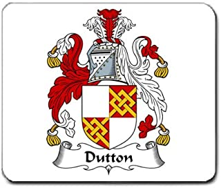 Dutton Family Crest Coat of Arms Mouse Pad