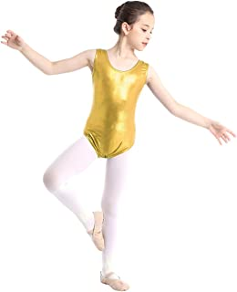Women Sleeveless Gymnastics Ballet Dancer Leotard Top Blouse Bodysuit Jumpsuit