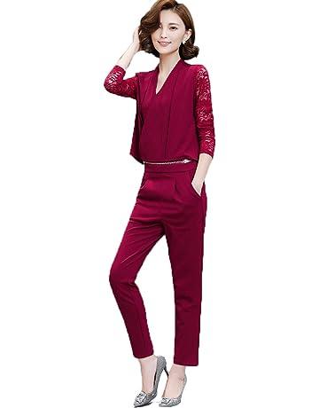 35f7bcebd5873   ナチュシー   レディース セットアップ パンツ ドレス オールインワン スーツ オーバーオール   刺繍 アンサンブル