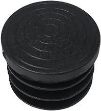 Maurer 5330659 eindstuk, rond, 32 mm, zwart, 4 stuks
