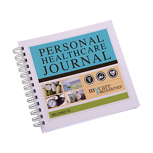MyCare Necessities Personal Healthcare Journal Medical History Journal, 2 Pound