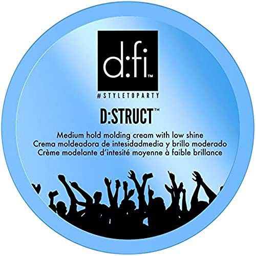 D:FI D:Struct Crema Fissante per Capelli,150 gr