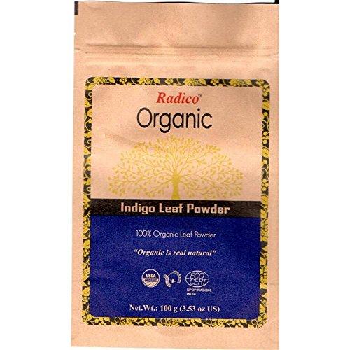 Radico Indigo-Blattpulver 100g (bio, vegan)