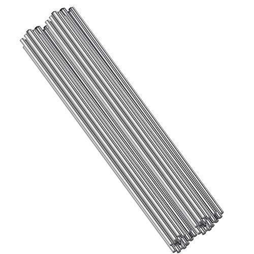 Bestine Alambre de soldadura de aluminio de baja temperatura sin polvo de soldadura, práctica y duradera para reparación