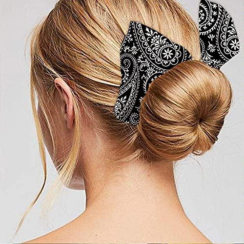 Goosuny Deft Bun Hair Bun Maker Twist Frisur Donut Hair Bun Deft Haarknotenmacher Sommer Mode Haarknoten Haar Brötchen für Damen Mädchen Twist, Wellen 1/3/6 PC