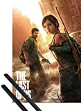 1art1 The Last of Us Póster (91x61 cm) Key Art Y 1 Lote De 2 Varillas Negras