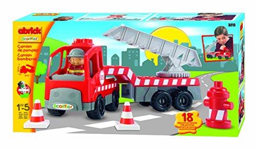 Ecoiffier - Voitures/Camions/ Bateaux et Avions - Camion Grande Echelle
