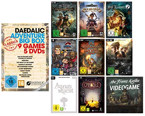 Adventure Big Box (9 Games, 5 DVDs)