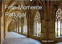 Foto-Momente Portugal (Wandkalender 2022 DIN A2 quer): Lissabon, Nazare, Obidos und grossen Klosteranlagen (Monatskalender, 14 Seiten )