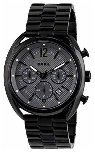 Breil heren chronograaf kwarts horloge met roestvrij stalen armband TW1664
